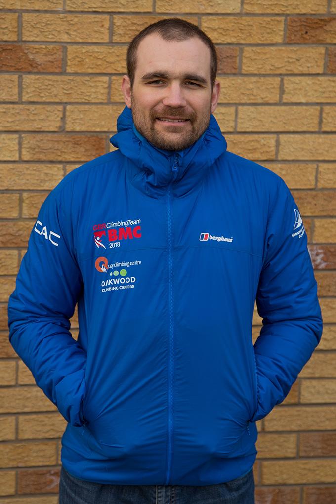 Jesse Dufton sporting his Team GB kit