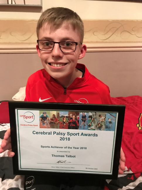The Cerebral Palsy Sport Sports Achiever of the Year Award