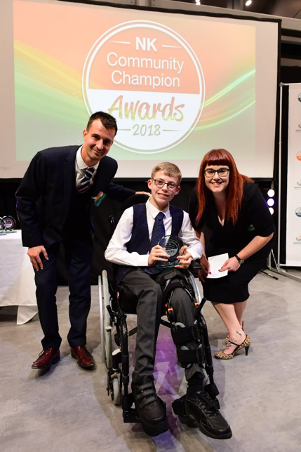 District's Community Champions Young Achiever of the Year Award