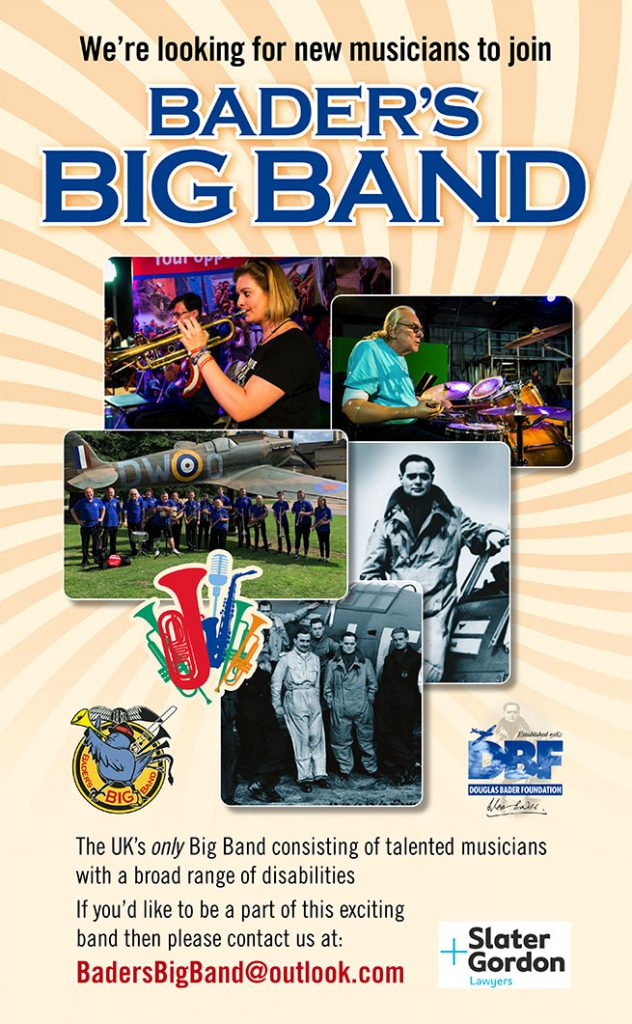 Opportunity to join Bader's Big Band